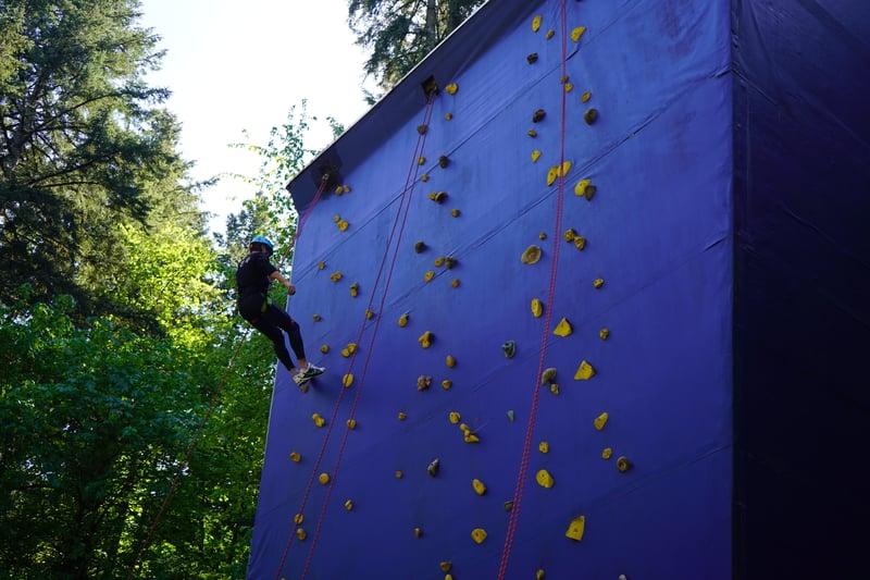 ywam salem climbing wall