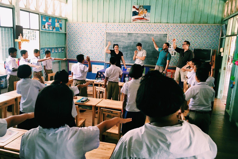 serving in thailand