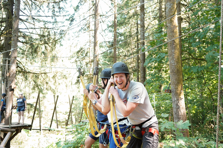 ywam salem ropes course fun